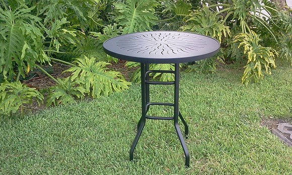 Punch Top Aluminum Table (RB36)