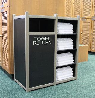 Towel Return Cabinets