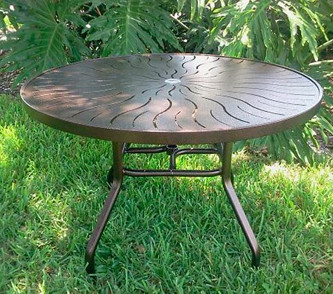 Punch Top Aluminum Table (R36)