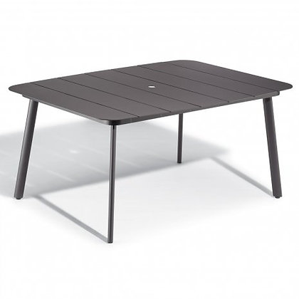 "Eiland 63"" Square Dining Table - Carbon"
