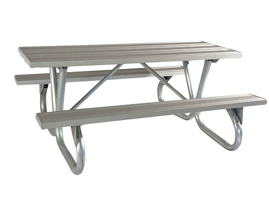 6' BG Series Aluminum Picnic Table