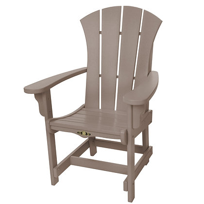 Sunrise Adirondack Dining Chair with Arms