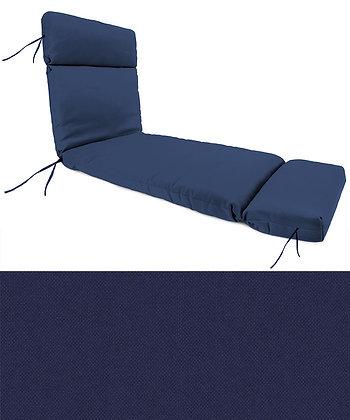 Navy Chaise Lounge Cushion