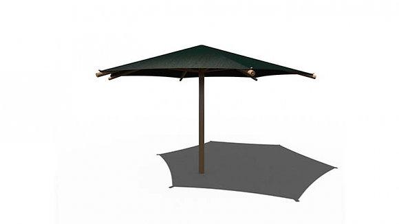 Umbrella 10ft Hexagon