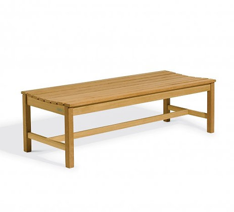 5' Backless Shorea Bench