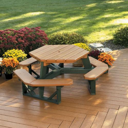 Hex Picnic Table | Outdoor Commercial Furniture | Colorado | Taylor U0026  Associates, Inc
