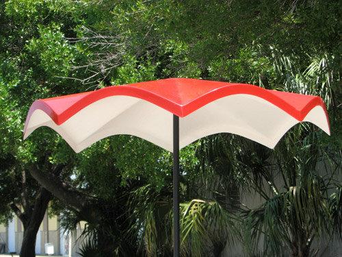 6ft Wave Rounded Octagon Umbrella STM-5