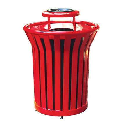32 Gallon Waste Receptacle with Ash Bonnet Lid