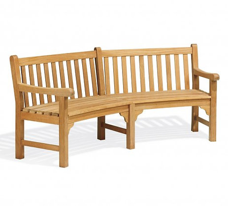 Essex Curved Bench