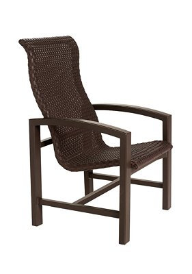 Lakeside Woven Highback Dining Chair