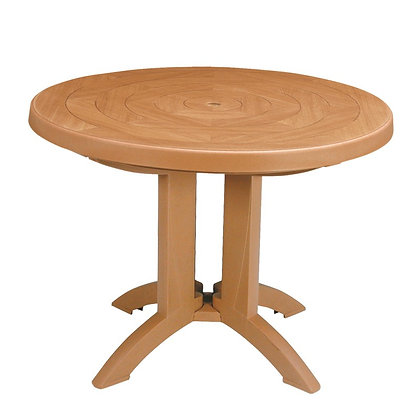"Atlantis 38"" Round Folding Table - Teak"