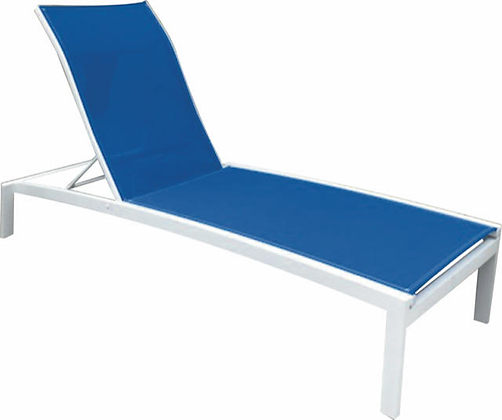 Miami Sling Chaise Lounge with Arms