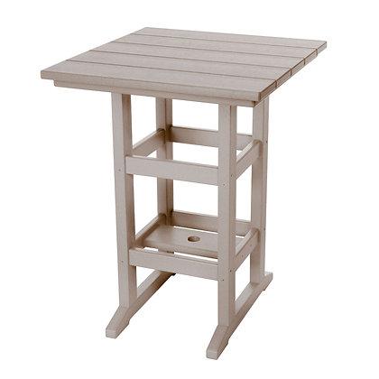 Adirondack Counter Height Table - Weatherwood