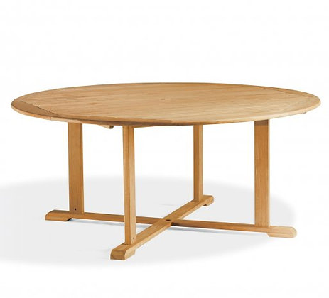 "67"" Round Shorea Dining Table"
