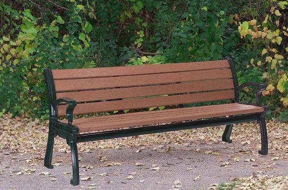 """72"""" Park Avenue Bench"""