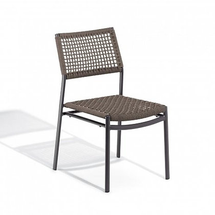 Eiland Side Chair - Mocha/Carbon