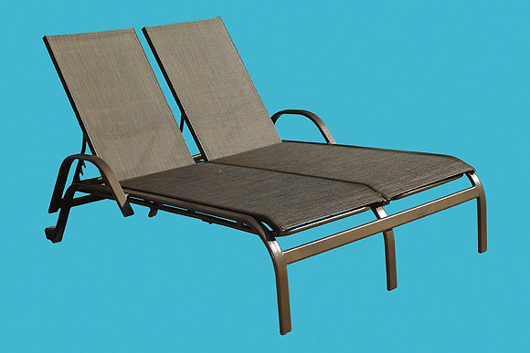 Tahiti Sling Double Chaise
