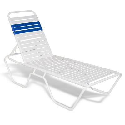 Full Base Strap Chaise Lounge
