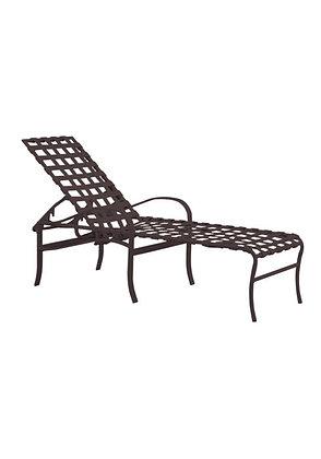 Palladian Cast Aluminum Chaise Lounge