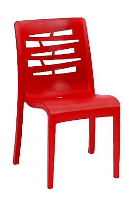 Essenza Stacking Chair Red