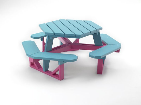 Bright Site Hex Tables