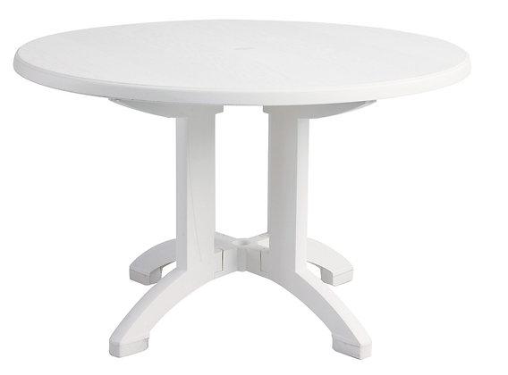 "Aquaba 48"" Round Pedestal Table"