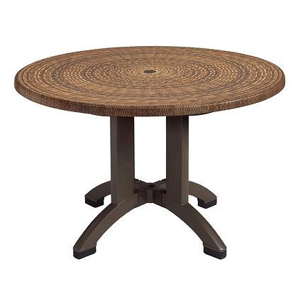 """Sumatra 42"""" Round Table"""