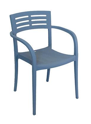 Vogue Resin Armchair Denim Blue