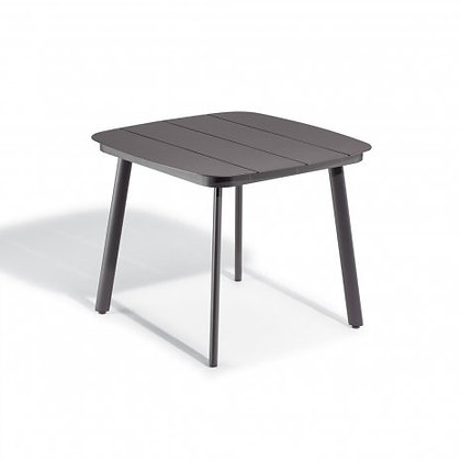 """Eiland 36"""" Square Dining Table - Carbon"""