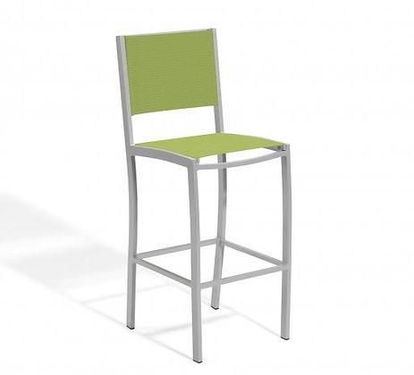 Travira Bar Stool Sling Seat/Back Go Green