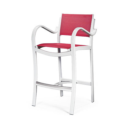 Maui Sling Bar Chair with Arms