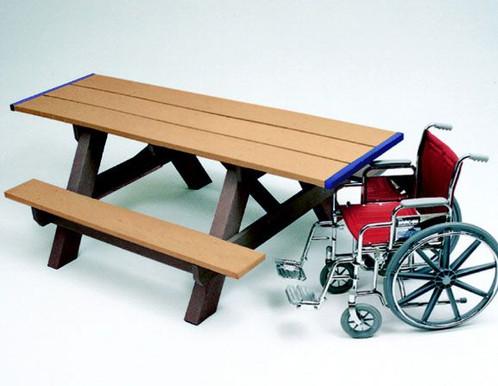 Handicap Picnic Table | Outdoor Commercial Furniture | Colorado | Taylor U0026  Associates, Inc