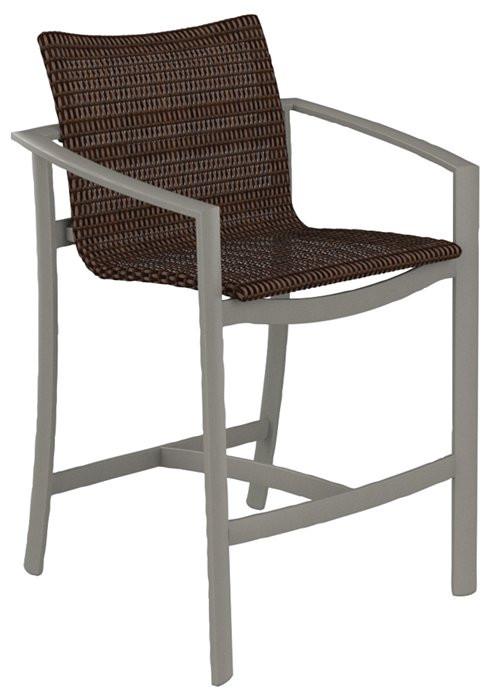 KOR Woven Bar Stool Outdoor Commercial Furniture Colorado