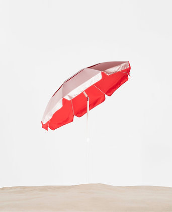 6' Octagon Solar Reflective Lifeguard Umbrella