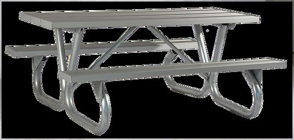 8' BG2 Aluminum Plank Table