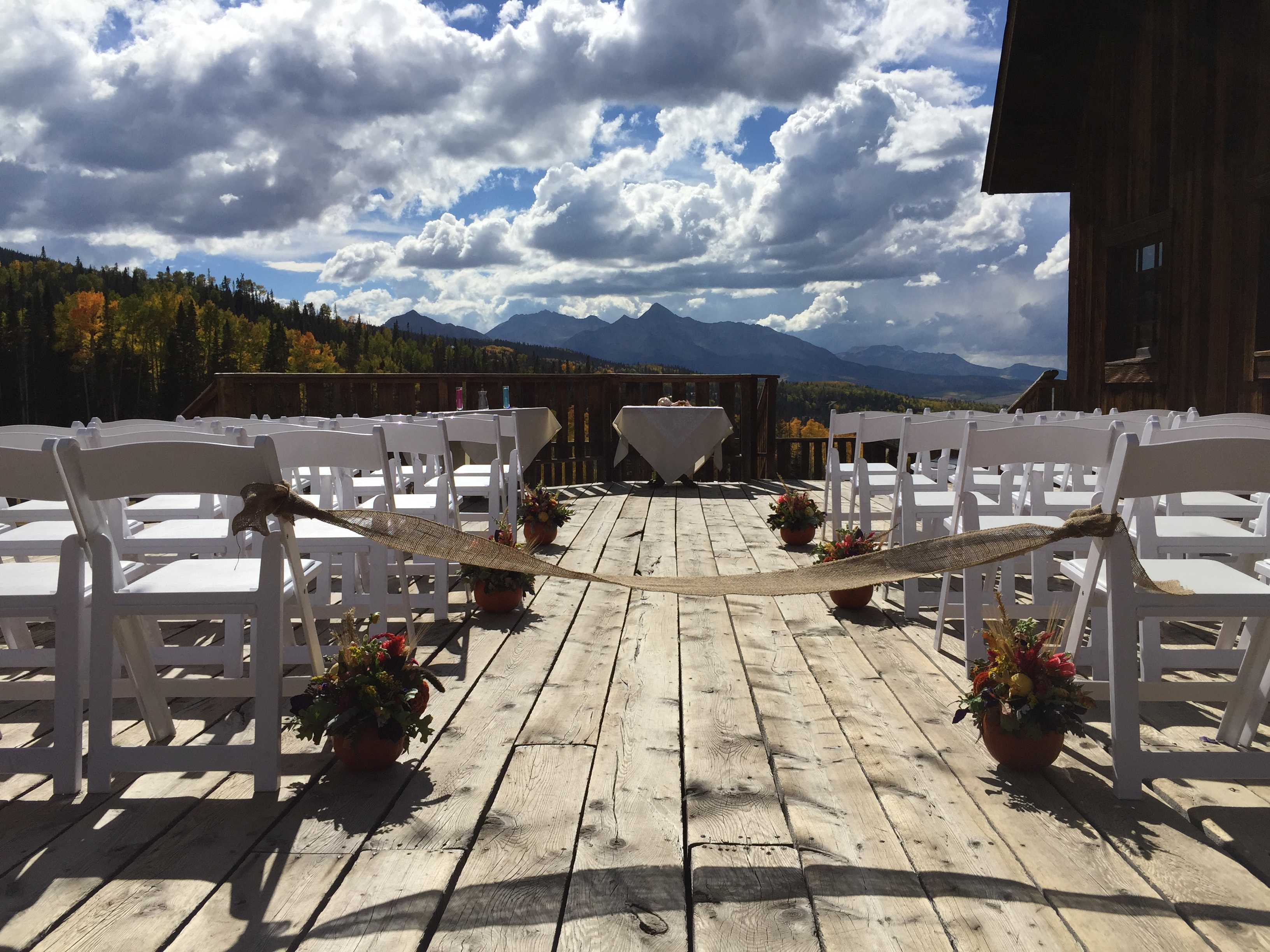 Mountain Lodge Ceremony