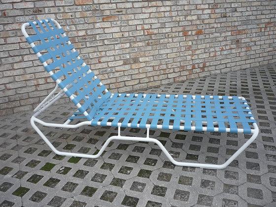 Classic Strap Crossweave Chaise