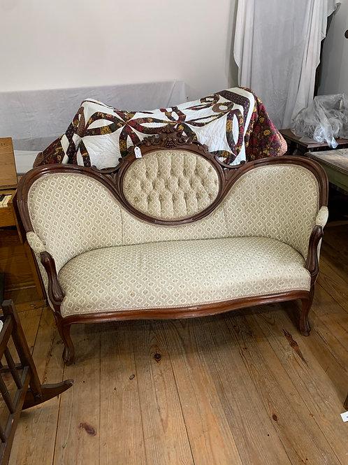 Antique petite sofa