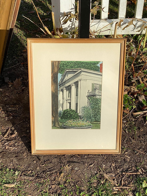 Watercolor of House