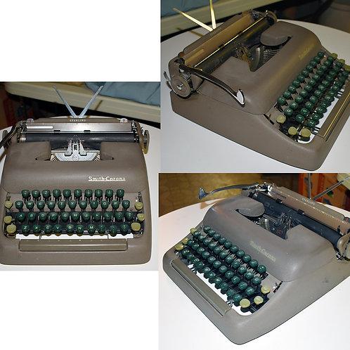 Vintage Smith Corona portable typewriter