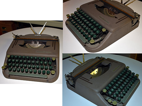 Vintage Smith Corona Skyriter portable typewriter