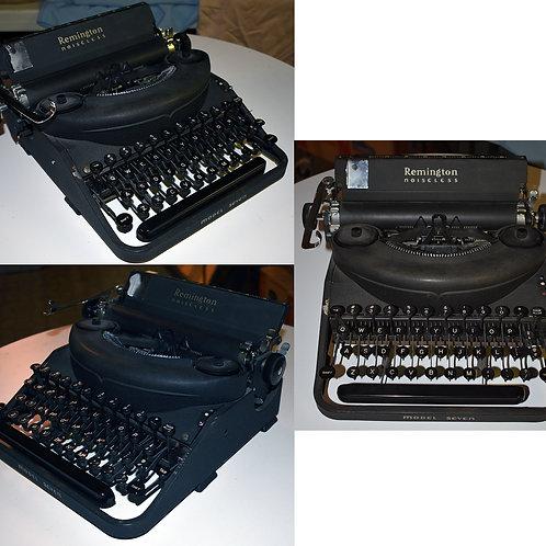 "Remington Rand #7 ""Noiseless"" Typewriter"