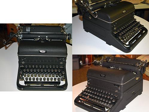Antique upright Royal Typewriter