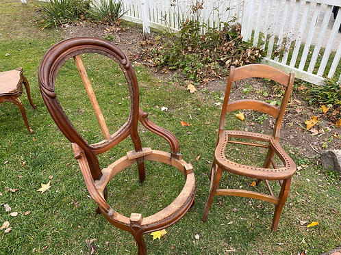 Two Victorian Project Chairs