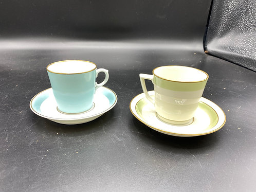 Royal Copenhagen Cups and Saucers