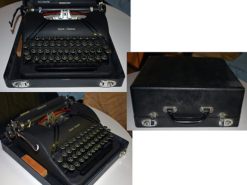 """Smith Corona """"Sterling"""" Typewriter with Case"""