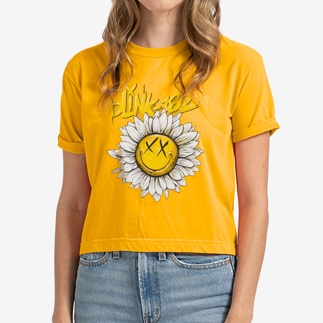 blink182-sunflowerpower-tshirt-mellowyel