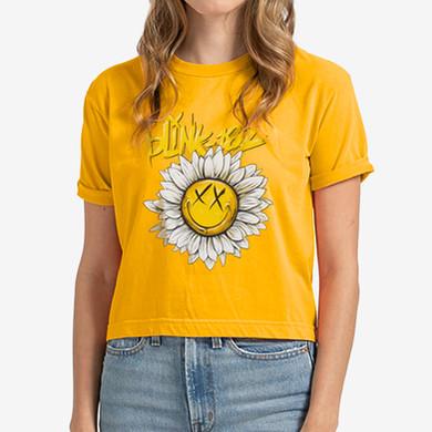 blink182-sunflowerpower-tshirt-mellowyel