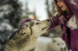 Annaelle Bellencourt and Weena|Yukon|Borealkennels