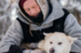 Bertrand Bellencourt and Nouska|Yukon|Borealkennels
